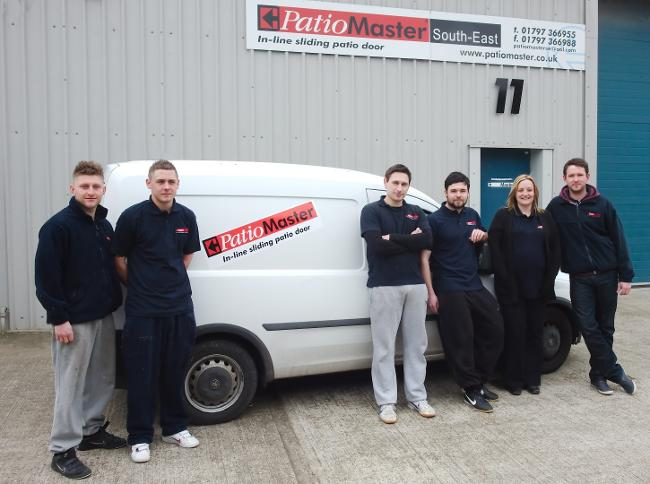 PatioMaster staff in Hythe, Kent by Richard Cook Photography